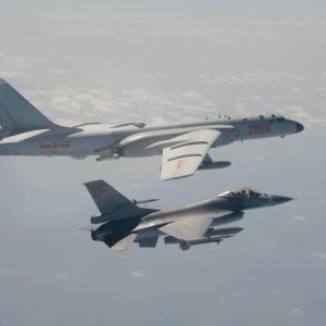 中国、グアムの米空軍基地標的とみられる模擬攻撃の動画公開