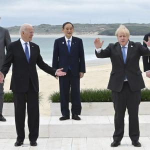 G7首脳声明に「台湾海峡」の平和を明記