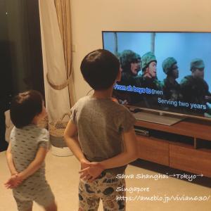 シンガポールの兵役制度をラップに乗せて/元気のある時にしか見れない映画