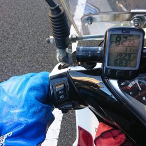 wave125i 燃費(11/5)と防寒グローブ