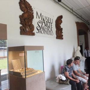 「Museu de Arte Sacra」(宗教美術館)