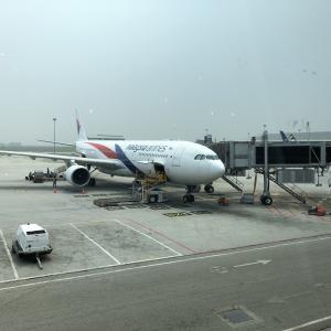 初めてのマレーシア航空、復路