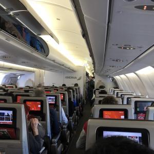 初めてのイベリア航空