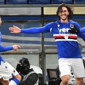 2020-21 SERIE A 第18節 SAMPDORIA 2-1 Udinese 逆転勝ち!