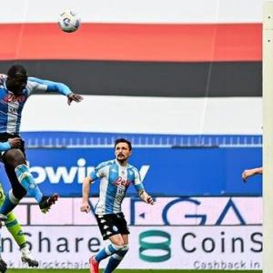 2020-21 SERIE A 第30節 SAMPDORIA 0-2 Napoli ゴール取り消されの惜敗・・・