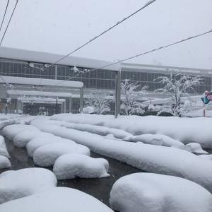 北陸の大雪 × 体積膨張