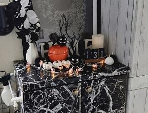 【白黒】さらばハロウィン…今年の衣装はファントミラージュキズナスタイル