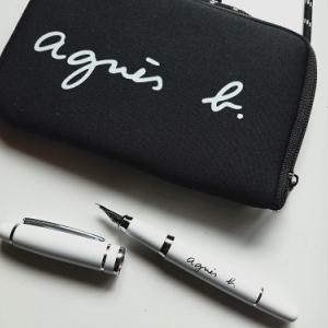 【白黒】モノトーンなMr.&Mrs.タイポクッションカバーと再販でやっと買えたアニエスベー