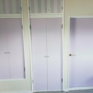 【DIY】子供部屋を作る!昭和な押し入れ・クローゼットをペイント&リメイクシートで可愛くDIY