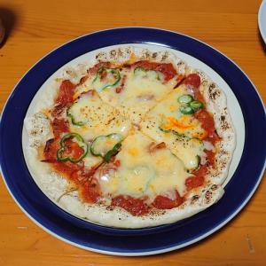 家ピザ と おむつ