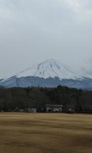富士山はまだまだ冬模様