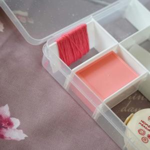 セリアの収納アイテムで、刺繍糸を使いやすくする方法