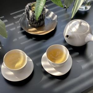 午前中にお茶時間をつくる。