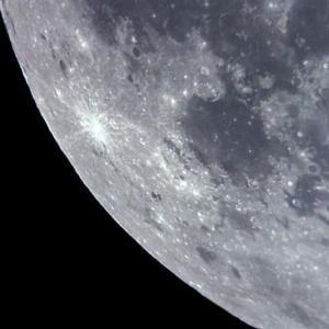 月面南西部