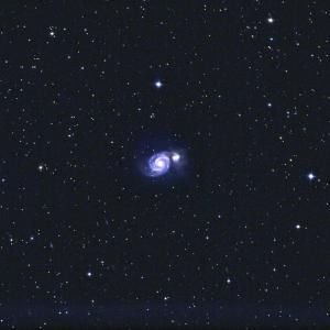 M51子持ち銀河