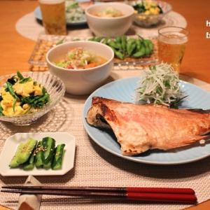 『赤魚粕漬』とストウブで『豚汁』の献立。