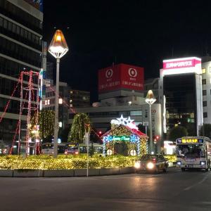 【街角スケッチ】夜の吉祥寺駅前