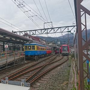 【鉄道スケッチ】明るい話題です!箱根登山鉄道が7月末に復旧します!