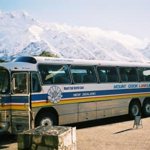 【旅先スケッチ】ニュージーランドで乗った長距離バス