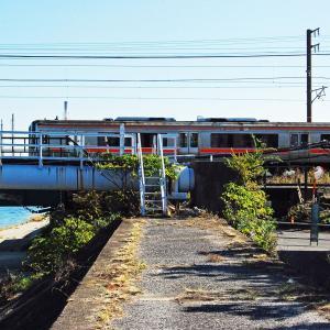 【鉄道スケッチ】四日市駅付近での快速「みえ」号