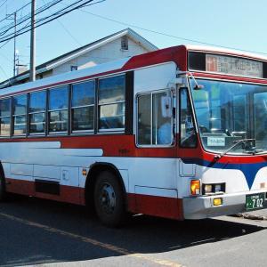 【バススケッチ】十和田観光電鉄に残った「キュービックバス」