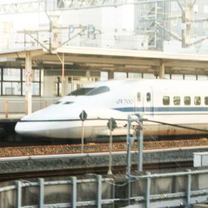 【鉄道スケッチ】浜松駅で見かけた東海道新幹線
