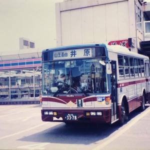 【バススケッチ】懐かしの旧・井笠鉄道バス(1997年撮影)