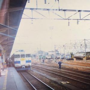 【鉄道スケッチ】1990年代初頭の富山駅にて1枚!