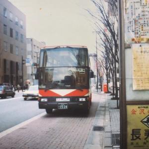 【バススケッチ】金沢市内での北陸鉄道高速バス