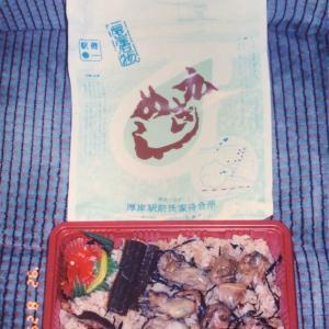 【鉄道スケッチ】根室本線・厚岸駅で食べた「かきめし」駅弁
