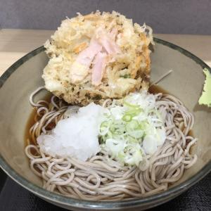 【鉄道グルメ】箱根そば「岩下の新生姜かき揚げそば」を食べました!