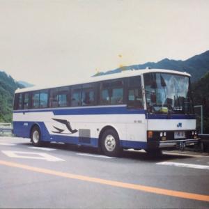 【バススケッチ】高知から松山を結んでいた「なんごく」号