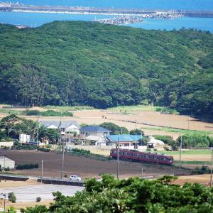 【鉄道スケッチ】初めて俯瞰撮影に挑戦!上から撮影した銚子電鉄