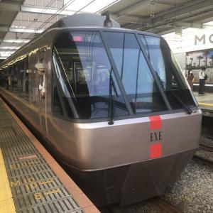 【鉄道スケッチ】乗るなら今でしょ!小田急ロマンスカー「EXE」の原型をクローズアップ。
