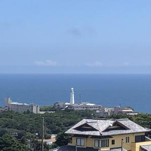 【旅先スケッチ】地球の丸く見える丘展望館からの絶景!(千葉県銚子市)