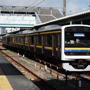【鉄道スケッチ】房総半島で活躍する209系電車