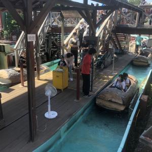 【旅先スケッチ】豊島園「フリュームライド」でドジを踏む!