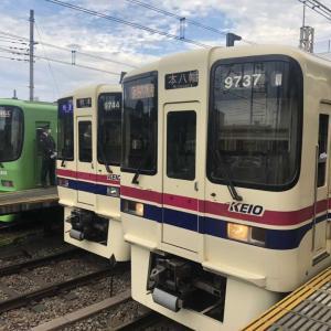 【鉄道スケッチ】京王電車がいっぱい!つつじヶ丘駅にて撮影しました。
