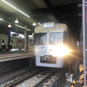 【鉄道スケッチ】井の頭線ヘッドマーク車ふたたび