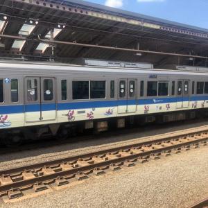 【鉄道スケッチ】小田急線の東京五輪PR電車