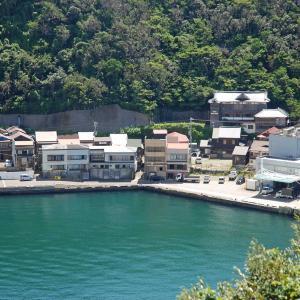 【旅先スケッチ】大島の波浮港の風景から
