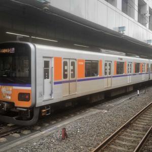 【鉄道スケッチ】現代版「フライング東上」号!発車を待つ「川越特急」