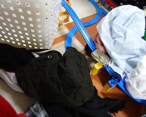 洗濯の効率化にチャレンジ