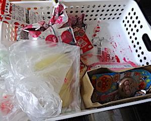 ベタベタの原因。夏捨て5。冷蔵庫