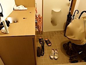 汚部屋の方程式。荒れた部屋立て直し。Part1玄関。