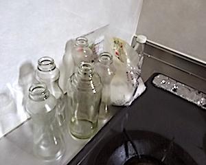 調味料ケースをコンパクトに(ダイソー)&ためまくったもの片付け。荒れた部屋立て直し。Part2キッチン