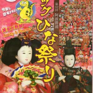 阿波勝浦のビッグひな祭り in 徳島県勝浦町