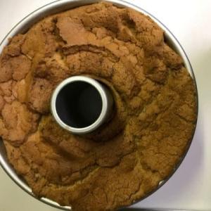 アールグレイのシフォンケーキを焼く・・・今回は底上げしてしまった