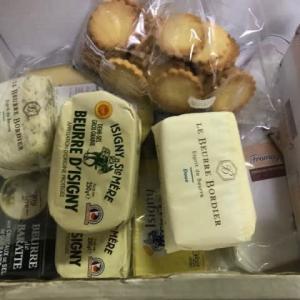 パリからチーズ宅急便が届いた
