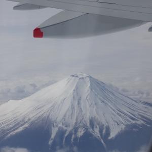 震えるような富士山
